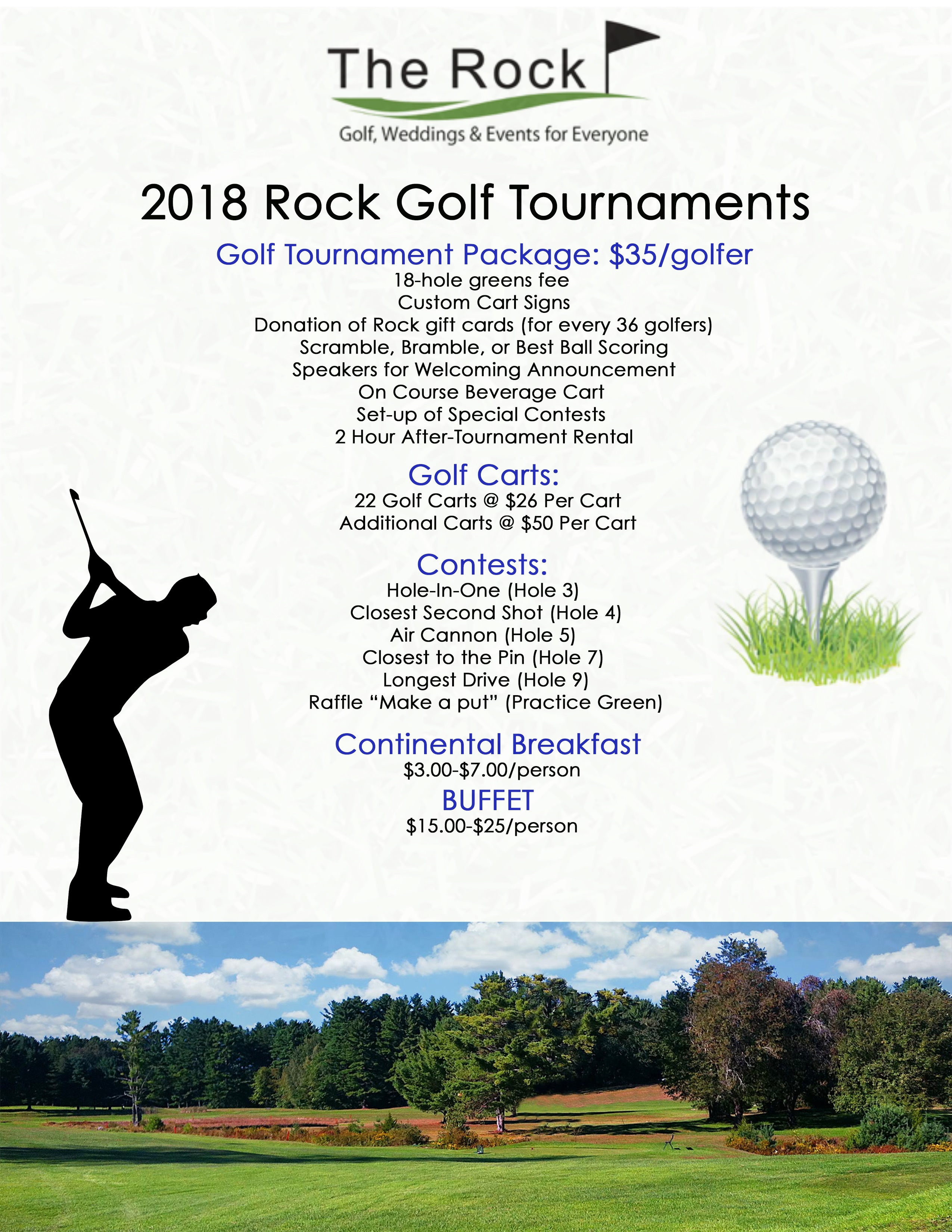 2018 Golf Tournament Web